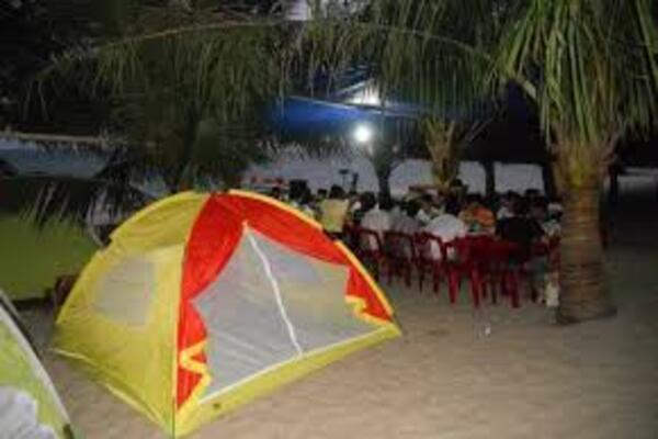 lều cắm trại cù lao chàm
