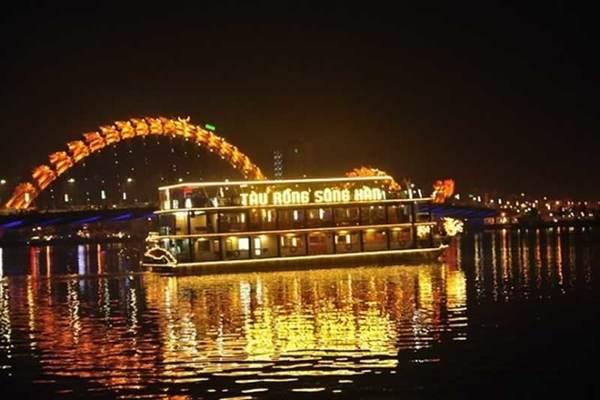 tàu rồng du thuyền sông hàn đà nẵng